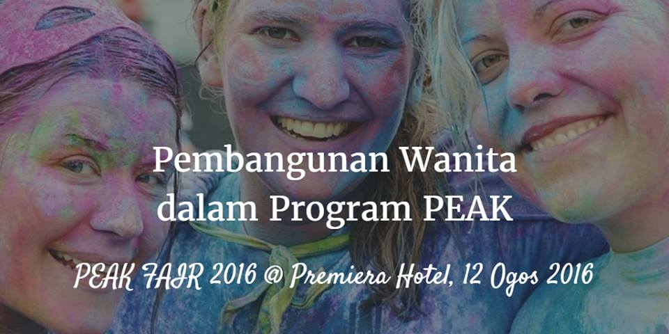 Pembangunan Wanita Dalam Program PEAK