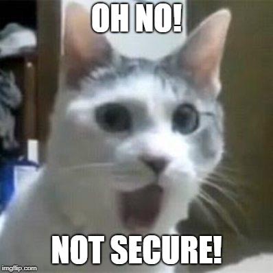 Laman Web Not Secure